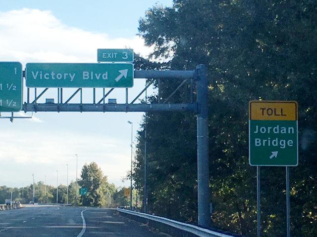 I-264 Victory exit