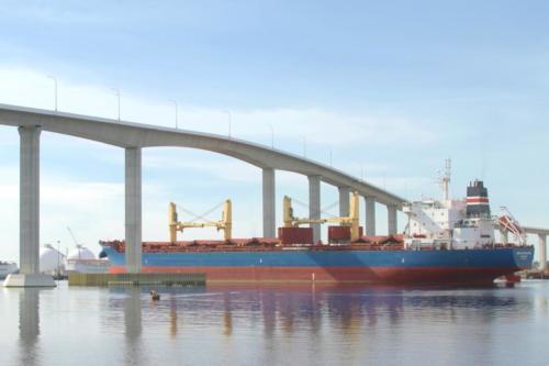 cargo ship Barcelona